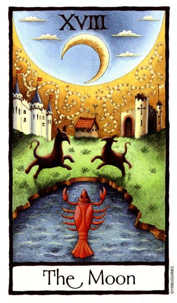 Луна - English Tarot - Медиа-архив - Таро в Ростове - новости, анонсы мероприятий, обучение, консультации, общение